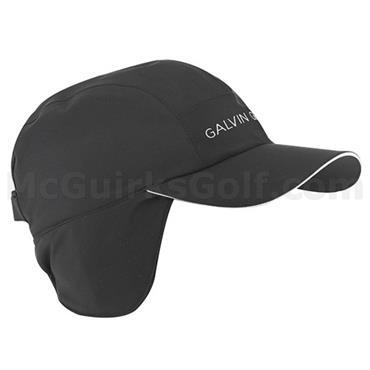 Galvin Green Gents Arctic Waterproof Golf Cap Fleece Black