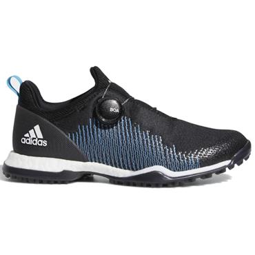 adidas Ladies Forgefiber BOA Golf Shoes Core Black