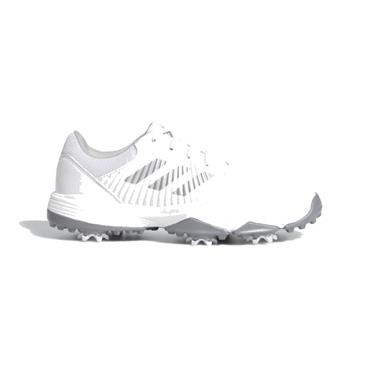 adidas Junior CP Traxion Shoes White - Silver