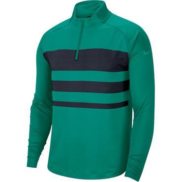 Nike Gents Dri-Fit Vapor Zip Top Green