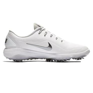 Nike Gents React Vapor 2 Golf Shoes White - Cool Grey