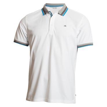 Calvin Klein Golf Gents Spark Polo Shirt White