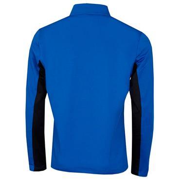 Calvin Klein Golf Gents Embossed ½ Zip Top Blue - Black