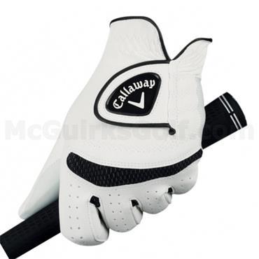 Callaway Weather Spann Gents Golf Glove White Left Hand