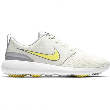 Nike Ladies Roshe G Shoes White - Light Zitron 101