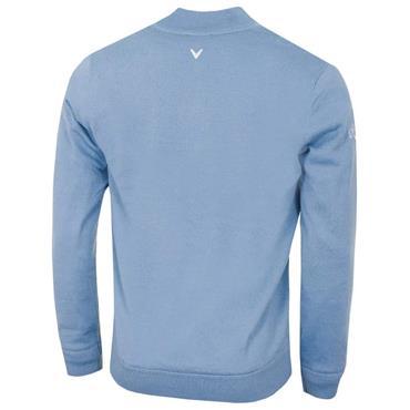 Callaway Gents ¼ Zip Merino Sweater Light Blue