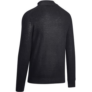 Callaway Gents ¼ Zip Mock Sweater Black Ink