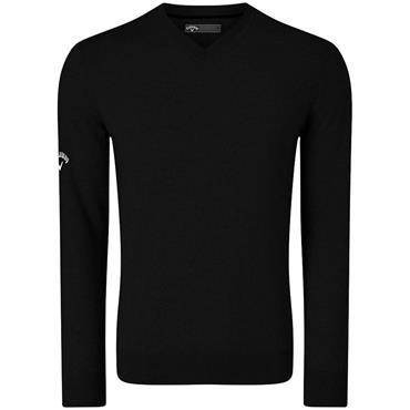 Callaway Gents V-Neck Blended Merino Sweater Black