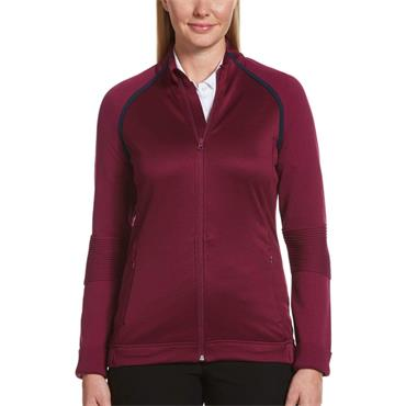 Callaway Ladies Midweight Mixed Sweater Purple