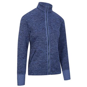 Callaway Ladies Dual Action Heathered Fleece Peacoat