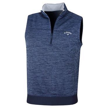 Callaway Gents Water Repellent ¼ Zip Vest Peacoat