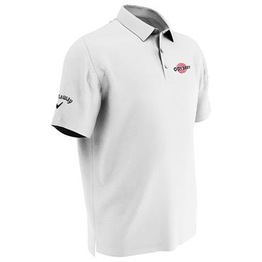 Callaway Gents Tournament Odyssey Polo Shirt White