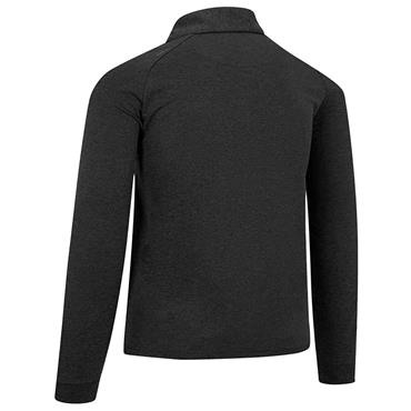 Callaway Gents Essential Long Sleeve Polo Shirt Black