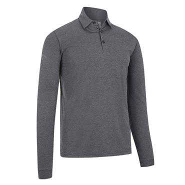 Callaway Gents Essential Long Sleeve Polo Shirt Quiet Shade
