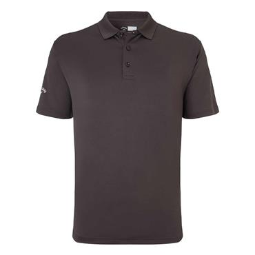 Callaway Gents Hex Opti-Dri Stretch Polo Shirt Asphalt