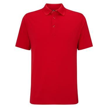 Callaway Gents Hex Opti-Dri Stretch Polo Shirt Tango Red