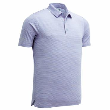 Callaway Gents Space Dye Jacquard Polo Shirt Pink