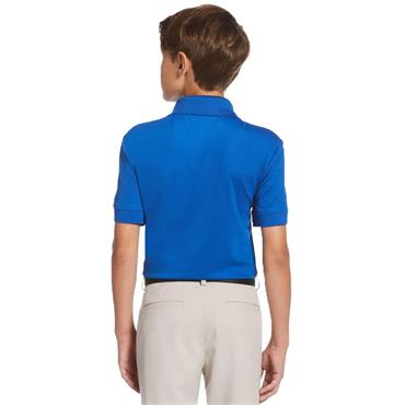Callaway Junior - Boys Colour Block Polo Shirt Lapis Blue