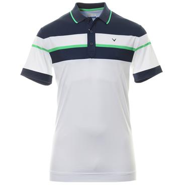 Callaway Gents Chest Black Polo White 130