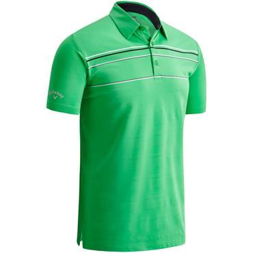 Callaway Gents Eng. Texture Polo Green