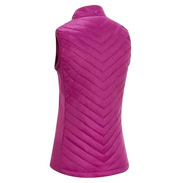 Callaway Ladies Swing Tech Puffer Vest Purple