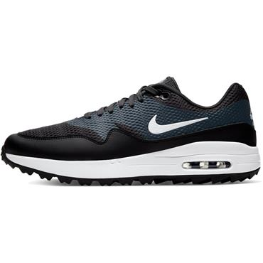 Nike Gents Air Max 1 G Shoes Black - White