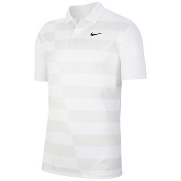 Nike Gents Dri-Fit Polo Shirt White
