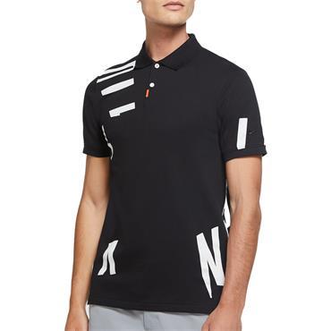 Nike Gents Slim Fit Polo Shirt Black