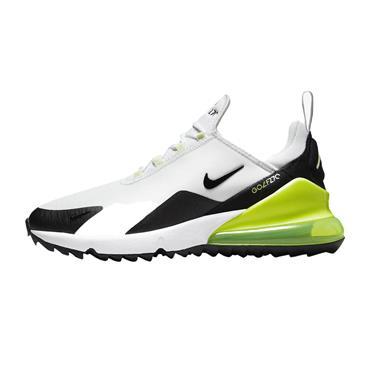 Nike Gents Air Max 270 G Shoes White Volt - Black