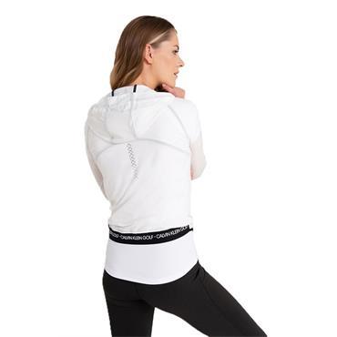 Calvin Klein Golf Ladies Arena Windbreaker Jacket White