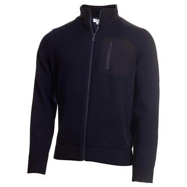Calvin Klein Golf Gents Navigation Lined Sweater Navy