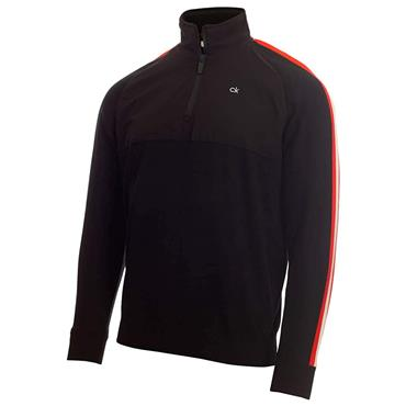 Calvin Klein Golf Gents Glacier Lined ½ Zip Sweater Black