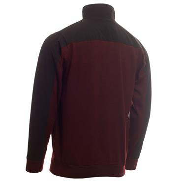 Calvin Klein Golf Gents Bruce Lined ½ Zip Sweater Blackberry