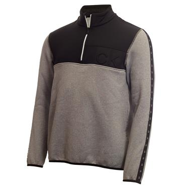 Calvin Klein Golf Gents Denali ½ Zip Top Grey Marl