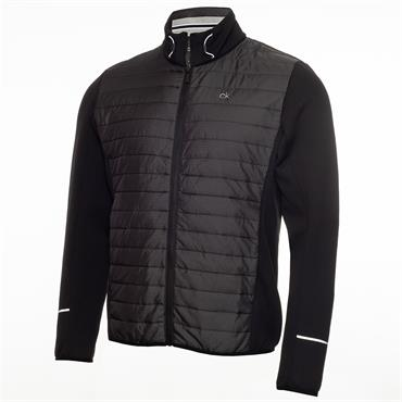 Calvin Klein Golf Gents Wrangell Hooded Hybrid Jacket Black