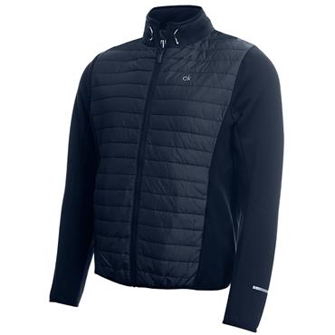 Calvin Klein Golf Gents Wrangell Hooded Hybrid Jacket Navy