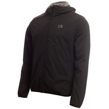Calvin Klein Golf Gents Ultron Hooded Jacket Black