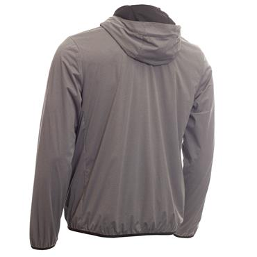 Calvin Klein Golf Gents Ultron Hooded Jacket Grey Marl