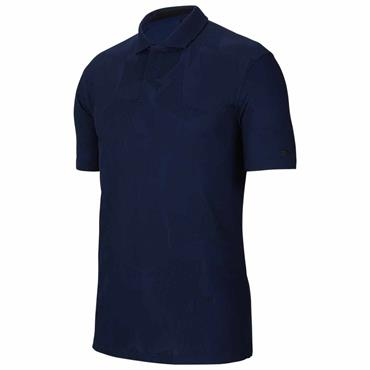 Nike Gents Dri-Fit Tiger Woods Polo Shirt Blue Void 492