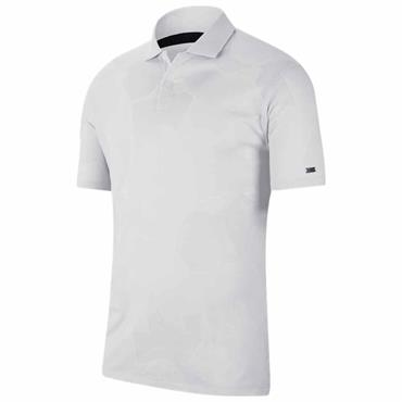 Nike Gents Dri-Fit Tiger Woods Polo Shirt White 100