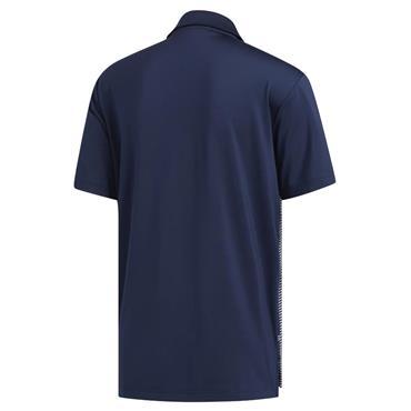 adidas Gents Ultimate365 Colour Block Polo Shirt Navy - Grey