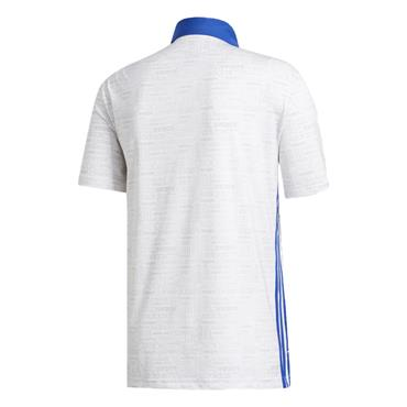 adidas Gents Ultimate365 Polo Shirt White - Grey