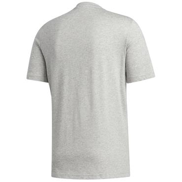 adidas Gents Leisure T-Shirt Grey Heather