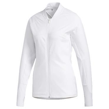 adidas Ladies Go-To A Full Zip Jacket White