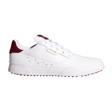 adidas Ladies Adicross Retro Shoes White - Wild Pink