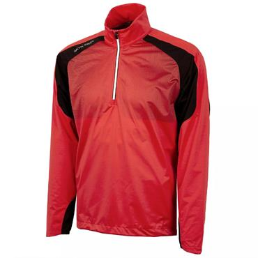 Galvin Green Gents Lex ½ Zip Interface Jacket Red - Black