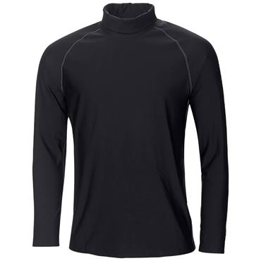 Galvin Green Gents Edwin Roll Neck Top Black - Red