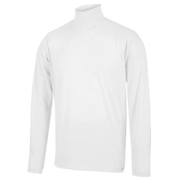 Galvin Green Gents Edwin Roll Neck Top White