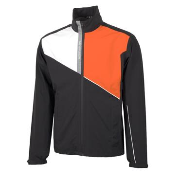Galvin Green Gents Apollo GORE-TEX Paclite Jacket Black - White - Red - Orange