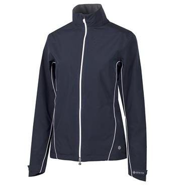 Galvin Green Ladies Arissa Waterproof GORE-TEX Full-Zip Jacket Navy - White